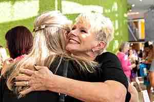 Judy hug