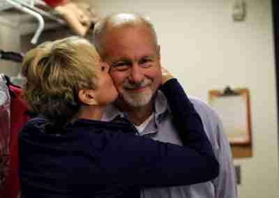 Judy and David